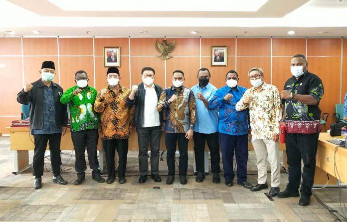 Komisi 1 DPR Papua Barat Kunker ke DPRD DKI Jakarta