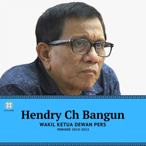 Wakil Ketua Dewan Pers, Hendry Ch Bangun