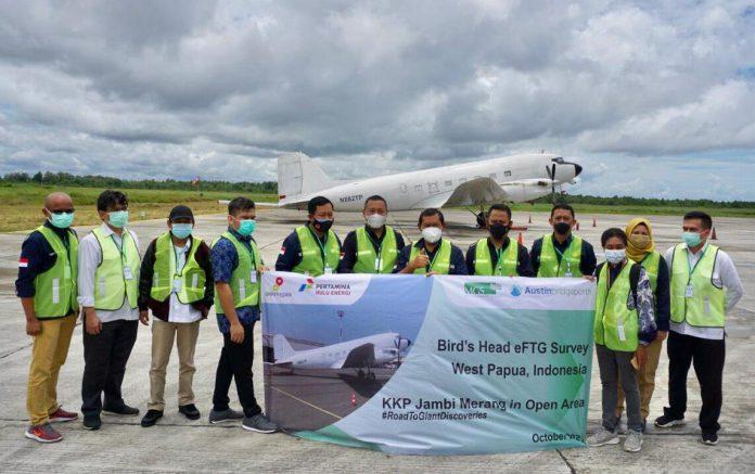 Pesawat Berteknologi eFTG Telah Berada di Sorong untuk Survei Wilayah Migas di Kepala Burung